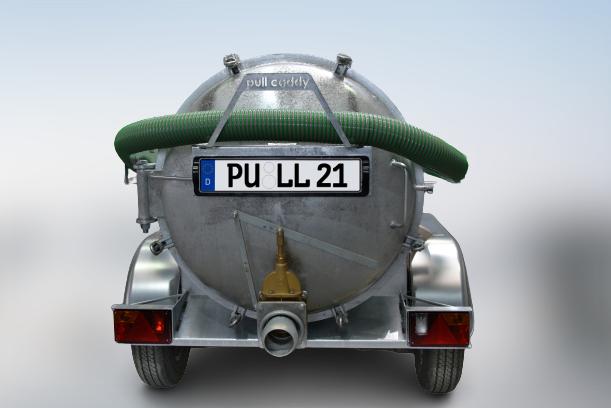 Sauganhänger Metallo Pull - Saugfass Pull Caddy